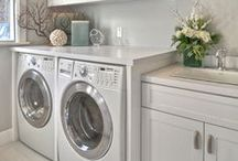laundry room ideas / by Heather Grus Janis