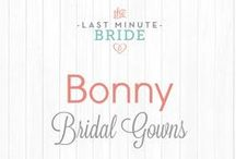 Bonny Bridal Gowns / Bonny Bridal Gowns from www.thelastminutebride.com.