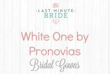White One by Pronovias Bridal Gowns