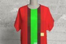 Primordial Pixel Fashion Line via VIDA