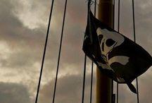 concept: pirate life / hoist the colours high