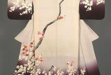 Kimonos, yukatas et furisodes