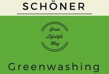 Greenwashing / Viele Hersteller tun so, als wären ihre Produkte grün oder nachhaltig und wollen auf der Green Lifestyle Welle mit schwimmen. Hier alles zum Thema Greenwashing.