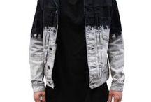 Denim / Different styles of denim jackets