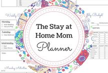 Planners | Printables | Cards / #planner #weeklyplanner #organize #printables #cards #greetingcards #binder