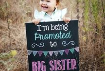 Baby #2 on the way / #newborn #baby #parenting #motherhood #pregnancy #announcements #photo #maternity