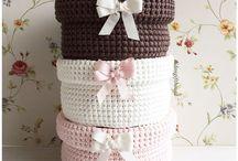 Crochet Baskets   Storages / #crochet #baskets #storage