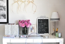 decorating: the workspace