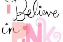 Pink / On Wednesdays we wear Pink - Inspirations & Fun to celebrate Pink Wednesdays!!
