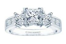 Engagement Ring Classics / A diamond engagement ring is classic.  Look no further for some of the best.