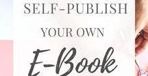 Blogging | créer son Ebook | Business | Ebook / Créer un ebook pour son blog.  Tips, blogging tips, blogging