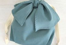Ribbon Drawstring Pouch