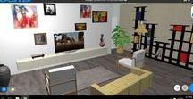 InnoPlanner Living Room Design / Living room designs using InnoPlanner CAD software