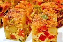 Tortilla en Fritata
