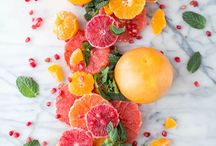 colorful food photography