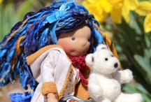 Colorful Puppen Creations / My handmade waldorf dolls.   