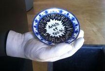 Deluna Ceramics / Hand painted ceramic art.
