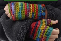 Crochet -- Gloves & Hats / by Susan Hodges
