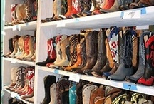 Shoes, shoes and more Cowboy boots / You can never have enough shoes!