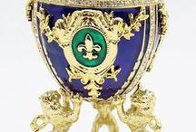 Eggs of Faberge, the jeweler of the Czars
