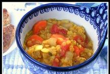 Soup, Stews, and Chili / Bowls of comfort: soups, stews, and chili. Vegetarian friendly.