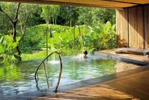 Interior design: indoor pools