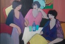 Itzchak Tarkay  / Itzchak Tarkay (1935 - 2012) was an Austrian painter of Israeli origin