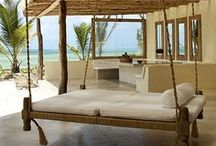 A HOUSE BY THE WATER / In my dreams here are some beach house ideas. IN. MY. DREAMS.