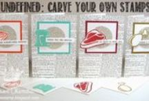 Undefined Stamp Carving / Send pictures of the stamps you've carved with the Undefined Stamp Carving Kit to undefined@stampinup.com so we can pin them here! Learn more about Undefined at http://s.tamp.in/stamp-carving. / by Stampin' Up!
