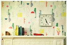 Wallpaper in interiors