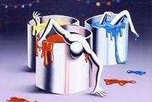 Marc Kostabi / an artist or just a histrionic crook?