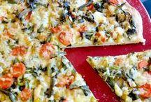 Pizza Pizza / Crazy, creative and wonderful pizza recipes. Vegetarian friendly.