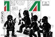 Alitalia satyricon / raccolta vignette