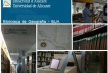 Nuestras Bibliotecas en Foursquare / Te presentamos nuestras bibliotecas con su localización. / by Biblioteca Universidad de Alicante