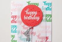 Birthday (2015-2016 Annual Catalog) / by Stampin' Up!