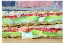 Sandwich Lover / Satisfying and simple sammies for the sandwich lover. Vegetarian friendly.