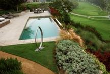 The Modern Landscape / Homes and gardens with a modern aesthetic.