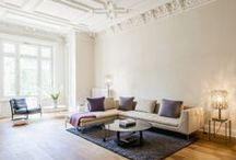 Haussmannien Interiors, Moldings  and Contemporary Style