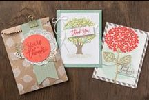 Thoughtful Branches Bundle / We are over the moon excited about the Thoughtful Branches bundle. There are so many incredible things this stamp set and thinlit set can do, this is just a small sampling of what can be created! Don't forget to order your own set, available while supplies last!