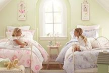 Shabby Chic Home Idea for Kids / We love shabby chic for kids!