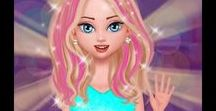 DRESS UP - MAKE-UP ARTIST - Android Gameplay / kids games android, ipad, from toutube channel kid games 4play