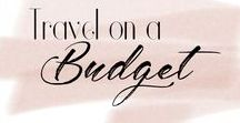 Budget travel / Travel for less, travel with a budget, stick to a budget. Travel cheap.