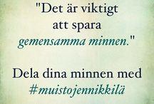Muistojen Nikkilä - Minnenas Nickby