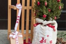 Weihnachten / Christmas / Weihnachten ist nicht nur das Fest der Liebe, sondern auch ein perfekter Anlass für´s Selbermachen. Wir pinnen für Dich schöne Stickmuster für Weihnachtsdeko und mehr. Fröhliche Weihnachten!