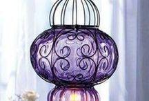 Lyhtyjä Lanterns / Kauniita kynttilälyhtyjä Nice candle lanterns