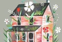 { magical houses }