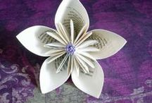 Origami Inspiration / Easy origami ideas, book reviews, and historical trivia. / by Dana Hinders