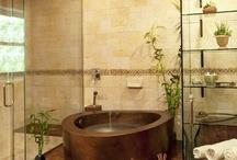 Bathrooms / by Grace Rose Fabrics