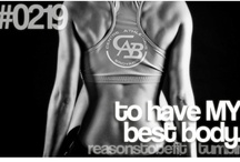Reasons to be Fit / by Mackenzie Danielle