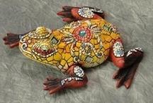 Mozaiek, mosaic / by ELLEN